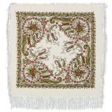Pavlovo Posad Shawl Pavlovo Posad with silk fringe 89 x 89 203-3...