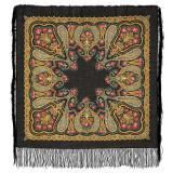 Pavlovo Posad Shawl Pavlovo Posad with silk fringe 89 x 89 766-18...