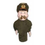 Doll handmade bar General military