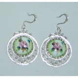 Enamel earrings Earrings Visit