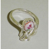 Enamel ring Ring the Cinderella