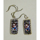 Enamel earrings Earrings Fragrant