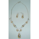 Enamel necklace Necklace the Nocturne