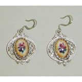 Enamel earrings Earrings Maria