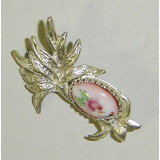 Enamel brooch Brooch the Palm tree