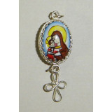 Enamel pendant Suspension bracket religion an Easter egg