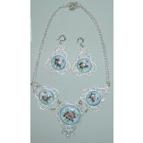 Enamel necklace necklace Variety show