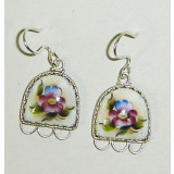 Enamel earrings Earrings Iridescent