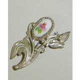 Enamel brooch Brooch the Branch