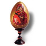 Easter egg wooden Religion