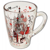 "Brelok 068-2-19-eng glass 320 ml ""from Moscow with love"""