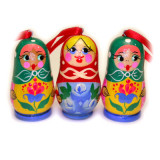 New Year and Christmas christmas tree toy Matreshka