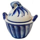 Gzhel salt shaker pouch