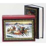 Book photograph album For 96 photos 13x9, the Winter three,