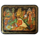 Lacquer Box Palekh The frog Princess, the author Maleeva S.