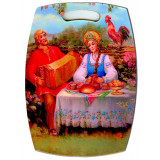 Ware Broad kitchen Couple at the table 29 x 21 cm