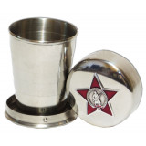 Souvenir with Russian and Soviet symbols Glass small, collapsible,...