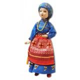 Doll handmade porcelain Tomsk province