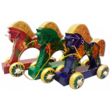 Toy wooden The horse