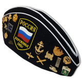 Headdress The soldier's forage cap marine officer with badges