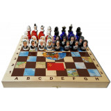 Chess set The USSR and the USA, the presidents