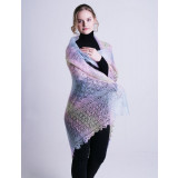 Pavlovo Posad Shawl The Orenburg Shawl puffer, rainbow, 1.30