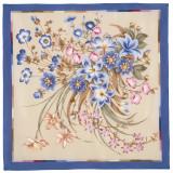 Pavlovo Posad Shawl Pavlovoposadskij silk lace, 89 x 89 661-14 Pure...