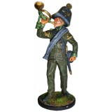 Tin soldier The Napoleonic wars Bugler company of infantry Vanguard...