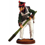 Tin soldier The Napoleonic wars Ordinary (handlanger) from army...