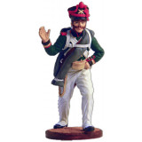 Tin soldier The Napoleonic wars Scorer (number 4) from army...