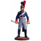Tin soldier The Napoleonic wars Private, 6th cavalry regiment...