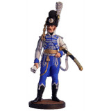 Tin soldier The Napoleonic wars Officer, Mounted Life guards...