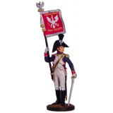 Tin soldier The Napoleonic wars Officer-erloeser of the 6th...