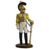 "Tin soldier The Napoleonic wars Officer of the regiment ""garde du..."