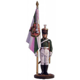 Tin soldier The Napoleonic wars The ensign of the Pskov musketeer...