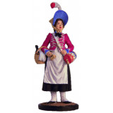 Tin soldier The Napoleonic wars French canteen-Keeper, 1805-15 years