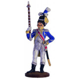 Tin soldier The Napoleonic wars Drum major Dutch grenadiers,...