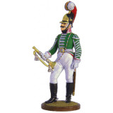 Tin soldier The Napoleonic wars Headquarters trumpeter Moscow...