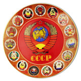 Plate USSR, Proletarians of all countries to unite