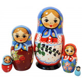 Nesting doll Traditional 5 pcs. small currants