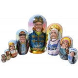 Nesting doll by customer specification portrait 8 pcs...
