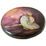 Brooch Ballethorizontal on the mother-of-pearl, Ballet