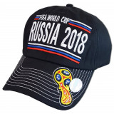 Headdress Baseball cap black with Cup, World Cup 2018, Russia