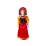 Doll handmade average AF-30 In a national costume
