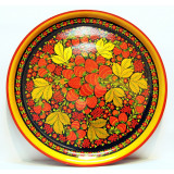 Khokhloma for food Plate-panel 500h21