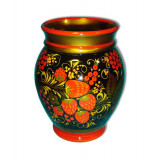 Khokhloma for food Vase 170x130