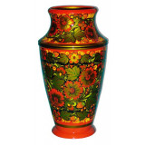 Khokhloma for food Vase 300h170