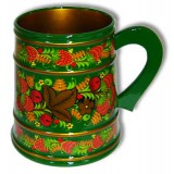 Khokhloma for food mug 140x120