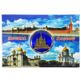 Magnet metal 02-3-19B-19K11 Moscow - collage, St...