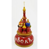 Musical cathedral - a breadboard model Moscow, red, 21 cm,...